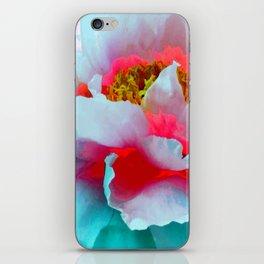 Vibrant Multicolor Floral teture iPhone Skin