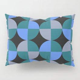 NeonBlu Squares Pillow Sham