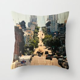 It's a Cubist's World Throw Pillow