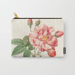 Rosa Gallica Versicolor Carry-All Pouch