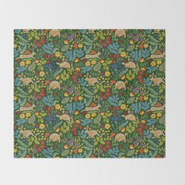 Tortoise and Hare Throw Blanket