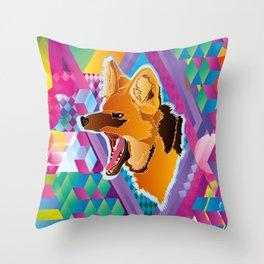 Lobo-guará (Maned wolf) Throw Pillow