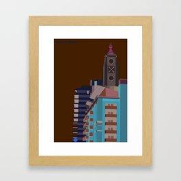 south bank (london) Framed Art Print