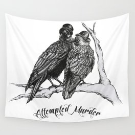 Attempted Murder Wall Tapestry