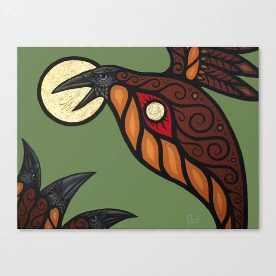 Solstice In The New World Canvas Print