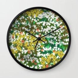 Monets Pond Wall Clock