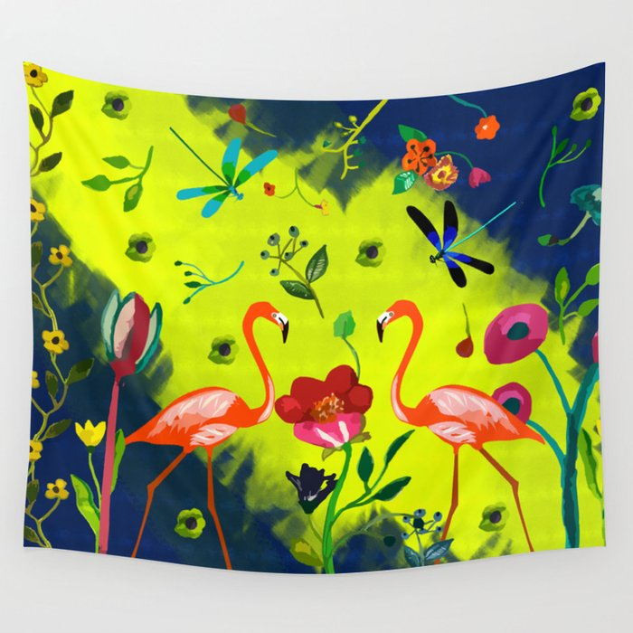 Hidden Paradise Wall Tapestry