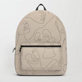 She's Beige Backpack