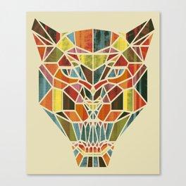 Holy Cat Canvas Print