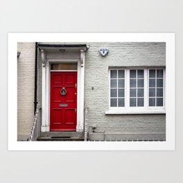 9 Bywater Street Chelsea George Smiley's London Flat Art Print