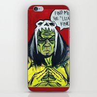 medicine iPhone & iPod Skins featuring Medicine Man by Hugo Maldonado