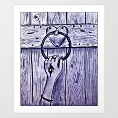 knockonwood Art Print