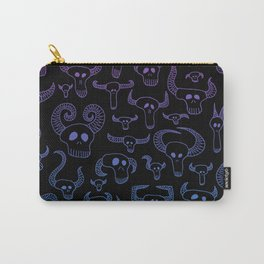 Death Party Time Sunset Carry-All Pouch