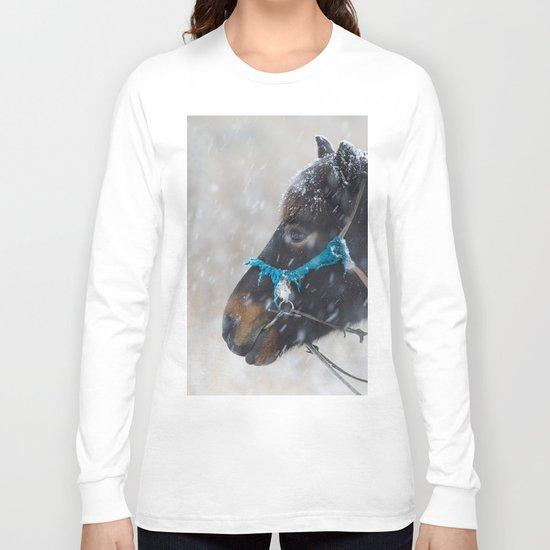 Winter Horse II Long Sleeve T-shirt