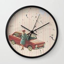 Vintage Travel Wall Clock