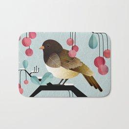 Bird, Watching Bath Mat