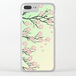 Sakura branch Clear iPhone Case