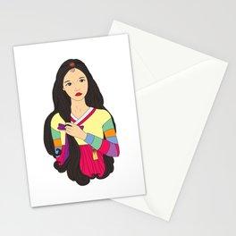 장화 'The Korean Rose' Stationery Cards