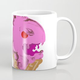 Angry Ice Cream Cone Coffee Mug