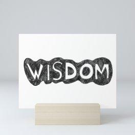 WISDOM Mini Art Print