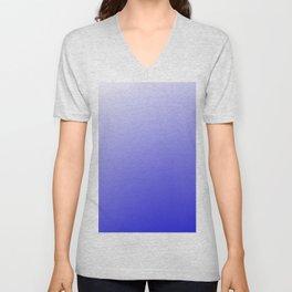 Purple Blue Ombre Modern Design Unisex V-Neck