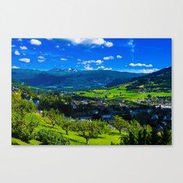 Norway summer Canvas Print