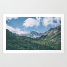 Mountains #6 Art Print