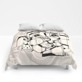 Gopher Man Comforters
