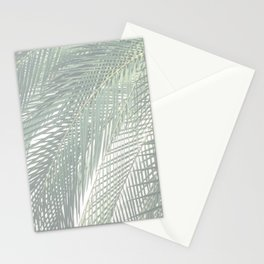 Faded Palm Leaves Stationery Cards