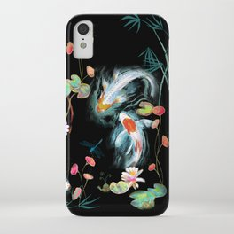 Japanese Water Garden iPhone Case