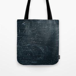 Wooden Dark Tote Bag