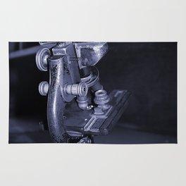Old Microscope Rug