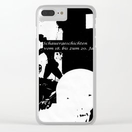 horror stories Clear iPhone Case