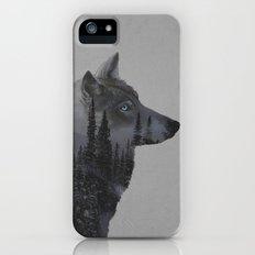 Winter Wolf iPhone SE Slim Case