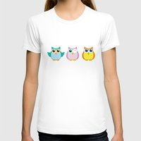 owls T-shirts featuring owls by Li-Bro