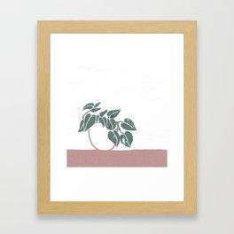 pothos Framed Art Print