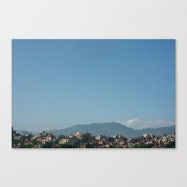 Kathmandu Valley  Canvas Print