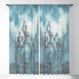 The Patrol Sheer Curtain