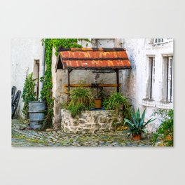 Historic Well Canvas Print