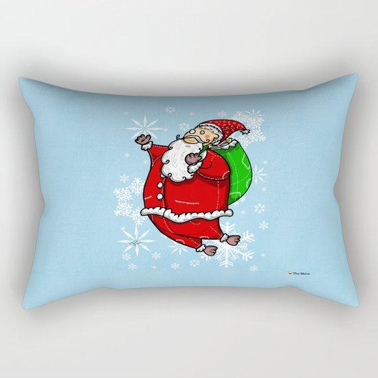 Santa Claus Sbirù Rectangular Pillow