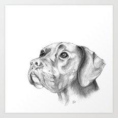 Bella :: By Definition, Beautiful Art Print