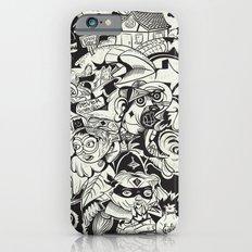 Circle Doodle Slim Case iPhone 6s
