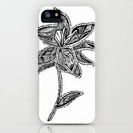 Girl From the North Country  iPhone Case