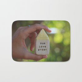 Our Love Story House Bath Mat