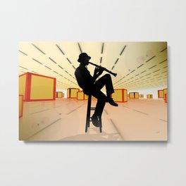 Cool Jazz 3 Metal Print