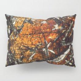 Pyroxene Crystals Pillow Sham