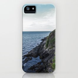 Along the sea in Ireland iPhone Case