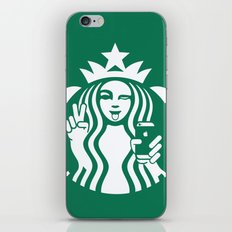 Selfie - 'Starbucks ICONS' iPhone & iPod Skin