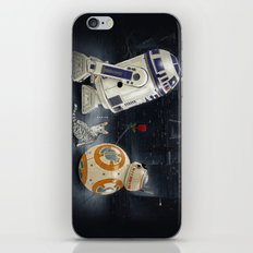 LOVE DROID & THE CAT iPhone Skin