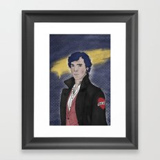 Punk 221b Framed Art Print